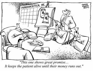 drug pricing cartoon