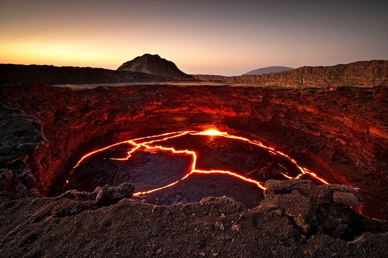 Ethiopian Lava Lake